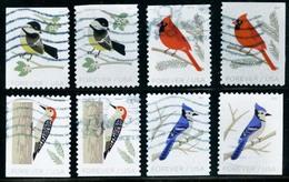 Etats-Unis / United States (Scott No.5317-20 - Winter Birds) (o) P2 Et P3 - Etats-Unis
