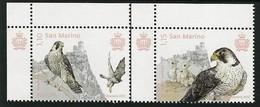 "SAN MARINO/ SAINT-MARIN - EUROPA 2019 -NATIONAL BIRDS.-""AVES - BIRDS - VÖGEL -OISEAUX""- SET Of 2 Stamps CB - 2019"
