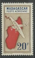 MADAGASCAR 1942 YT PA 39** - SANS CHARNIERE NI TRACE - Poste Aérienne
