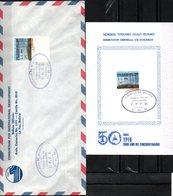 Bolivia 1986 CEFIBOL 1267s+T. SPD Y Tarjeta Conmemorativa 50 Años De Yacimientos Petroliferos Bolivianos. - Bolivie