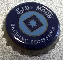 Etats Unis Beer Crown Cap Capsule Bière Blue Moon Brewing Company - Bière