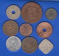 Pays Bas  Colonie  Antillens  9  Pieces - [ 4] Colonies