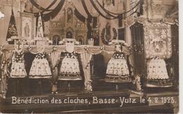 57 - YUTZ - CARTE PHOTO - BAPTEME DES CLOCHES LE 04.02.1923 - France