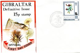 GIBRALTAR FDC 1980 With Flower.BARGAIN.!! - Gibraltar