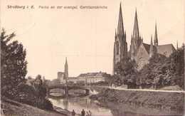 67 - STRASSBURG I. E. - Partie An Der Evangel. Garnisonskirche - Strasbourg