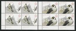"SAN MARINO/ SAINT-MARIN - EUROPA 2019 -NATIONAL BIRDS.-""AVES - BIRDS - VÖGEL -OISEAUX""- 2 BLOQUES DE 4- CB - 2019"
