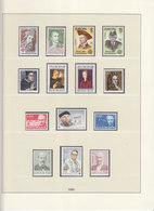 Europa Cept 1980 : Year Collection According To LINDNER Album Pages  (7 Scans) / MNH - Europa-CEPT
