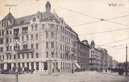 Wien 4: Heugasse - Heute Prinz-Eugen-Str., Mit Cafe Belvedere 1912 !!! - Zonder Classificatie