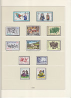Europa Cept 1981 : Year Collection According To LINDNER Album Pages  (9 Scans) / MNH - Europa-CEPT