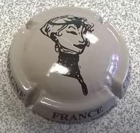 France Capsule Champagne Tête De Femme - Autres