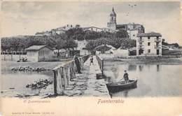 ESPANA Espagne ( Pais Vasco - Guipuzcoa / San Sebastian ) FUNTERRABIA : El Desembarcadro - CPA - Spain Spanien Spange - Guipúzcoa (San Sebastián)