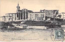ESPANA Espagne ( Pais Vasco - Guipuzcoa / San Sebastian ) FUNTERRABIA : Iglesia Y Castillo De Carlos V - CPA - Spain - Guipúzcoa (San Sebastián)