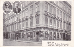Wien 4: Alleegasse 46 - Heute Argentinierstraße - Restaurant Trojan !!! - Zonder Classificatie