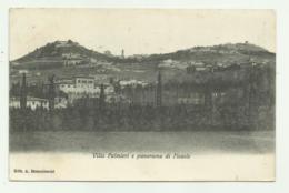 VILLA PALMIERI E PANORAMA DI FIESOLE   VIAGGIATA FP - Firenze