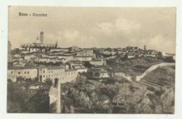 SIENA - PANORAMA  VIAGGIATA FP - Siena