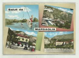 SALUTI DA MARSAGLIA - VEDUTE     VIAGGIATA FG - Piacenza