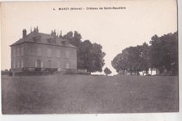 CPA : Marzy (58 ) Chateau De Saint Baudière     Ed Loreau Rare - Autres Communes