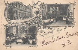 Wien 4: Frankenberggasse 10 - Hotel Kaiserhof !!! - Vienne
