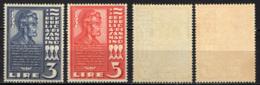 SAN MARINO - 1938 - INAUGURAZIONE DI UN BUSTO DI ABRAMO LINCOLN - MNH - Saint-Marin
