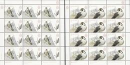 "SAN MARINO/ SAINT-MARIN - EUROPA 2019 -NATIONAL BIRDS.-""AVES - BIRDS - VÖGEL -OISEAUX""- 2 HOJAS BLOQUE De 12 SELLOS - 2019"