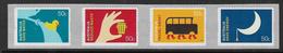 Australia SG3016-3019 2008 Living Green Set 4v Complete Unmounted Mint [2/2210/6D] - Mint Stamps