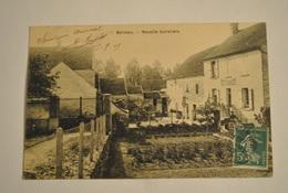 02 Aisne Belleau Recette Buraliste Tres Rare Cpa - Autres Communes