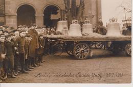 57 - YUTZ - CARTE PHOTO - ARRIVEE DES CLOCHES LE 30.07.1923 - SUPERBE CARTE - France