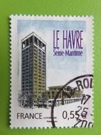 Timbre France YT 4270 - Série Touristique - Le Havre (Seine-Maritime) - L'hôtel De Ville - 2008 - France