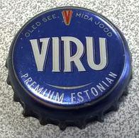 Estonie Beer Crown Cap Capsule Bière Viru Premium Estonian - Cerveza