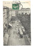 Algerie Alger Place Du Gouvernement Et Rue Bab El Oued 1907 - Alger