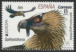 "ESPAÑA/ SPAIN/ SPANIEN/ ESPAGNE - EUROPA 2019 -NATIONAL BIRDS.-""AVES - BIRDS - VÖGEL -OISEAUX""- SINGLE STAMP - 2019"