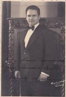 JOSE AGUILAR AUTOGRAPH SUR PHOTO CIRCA 1940 SIZE 15x11.5cm - BLEUP - Gehandtekende Foto's