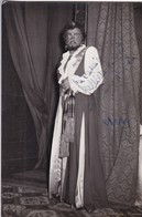 CARLOS GUICHANDUT BARITONE & TENOR AUTOGRAPH SUR PHOTO CIRCA 1940 SIZE 10x15cm - BLEUP - Gehandtekende Foto's