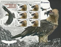 "ESPAÑA/ SPAIN/ SPANIEN/ ESPAGNE - EUROPA 2019 -NATIONAL BIRDS.-""AVES - BIRDS - VÖGEL -OISEAUX""- FEUILLE De 6 TIMBRES - 2019"