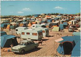 Kamping Camping - Stamped In Oostende - & Old Cars, Camping, Caravan - Voitures De Tourisme