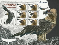 "ESPAÑA/ SPAIN/ SPANIEN/ ESPAGNE - EUROPA 2019 -NATIONAL BIRDS.-""AVES - BIRDS - VÖGEL -OISEAUX""- SHEET Of 6 STAMPS - 2019"