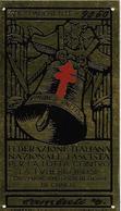 6-TARGA FEDERAZIONE ITALIANA NAZIONALE FASCISTA PER LA LOTTA ALLA TUBERCOLOSI-VEDERE DESCRIZIONE COMPLETA - Documents Historiques