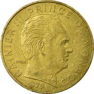 Monnaie, Monaco, Rainier III, 20 Centimes, 1979, TB+, Aluminum-Bronze, KM:143 - Monaco