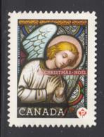 Canada 2011 MNH Sc 2492i (P) Angel Christmas Die Cut To Shape Ex-booklet - 1952-.... Règne D'Elizabeth II