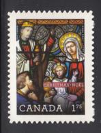 Canada 2011 MNH Sc 2494i $1.75 Nativity Christmas Die Cut To Shape Ex-booklet - 1952-.... Règne D'Elizabeth II