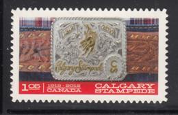 Canada 2012 MNH Sc 2548i $1.05 Gold And Silver Belt Buckle Die Cut To Shape Ex-booklet - 1952-.... Règne D'Elizabeth II