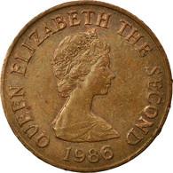 Monnaie, Jersey, Elizabeth II, 2 Pence, 1986, TTB, Bronze, KM:55 - Jersey