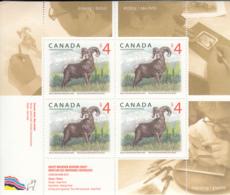 Canada 2018 MNH Sc 3129 Souvenir Sheet Of 4 $4 Big Horn Sheep - 1952-.... Règne D'Elizabeth II