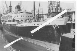 LOT 0880 PAQUEBOT BATEAU COMMANDANT QUERE MARSEILLE LES PORTS JOLIETTE Tirage Photo Dimension 110mm X 150mm - Joliette, Port Area