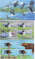 2019 , Moldova  Moldavie  Moldawien  Moldau  Europa Birds  Fauna , Bouklet With 2 S/s , MNH - 2019
