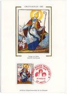 Carte Maximum 1993 - Croix Rouge 1993 : Saint Nicolas YT 2853 Du 57 Metz - Cartes-Maximum
