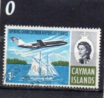 1966 Jet Service 1/- Used - Cayman Islands