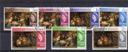 1968 Christmas 7 Values Set Used - Cayman Islands