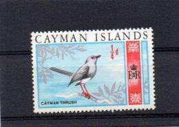 1969 Flora/Fauna 1/4d MNH - Cayman Islands