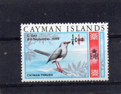 1969 Flora/Fauna Decimal 1/4c On 1/4d MNH - Cayman Islands